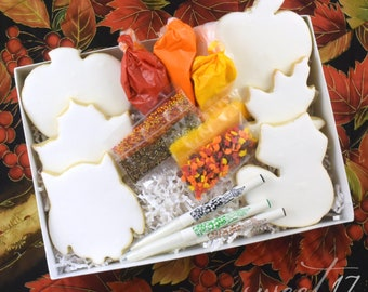 Decorate your own Fall Sugar Cookies
