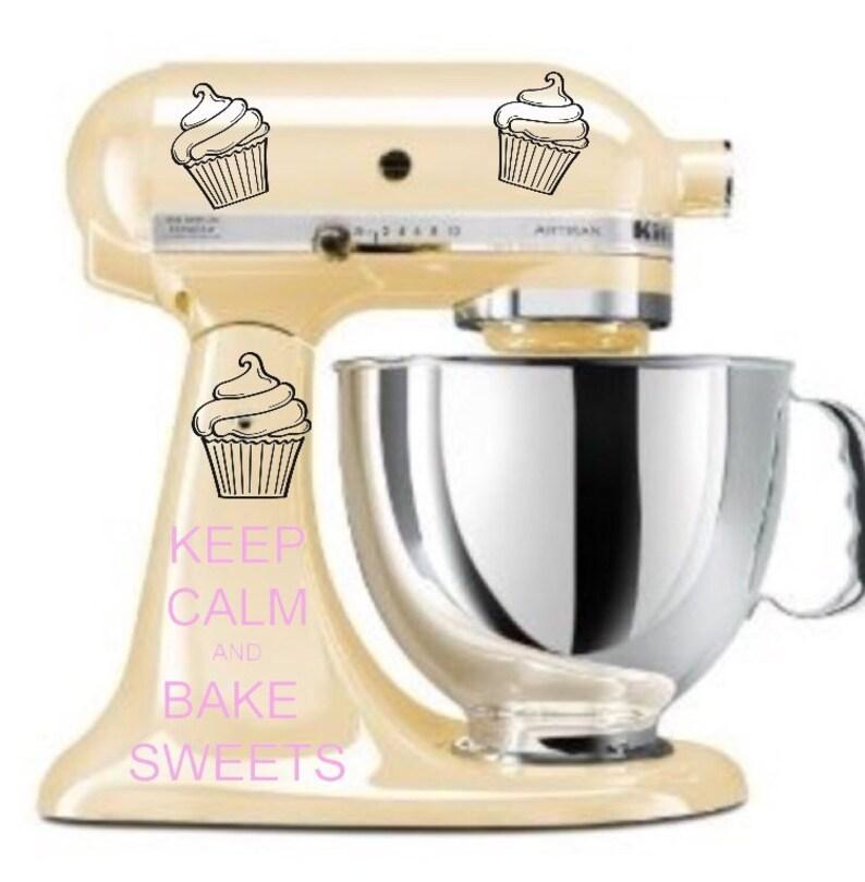 Kitchenaid Mixer Decals  Keep calm Decals  Kitchenaid  image 0
