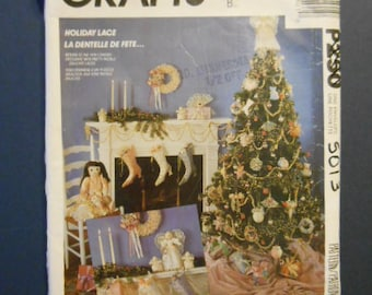 McCalls 5013, Christmas Decor, ornaments