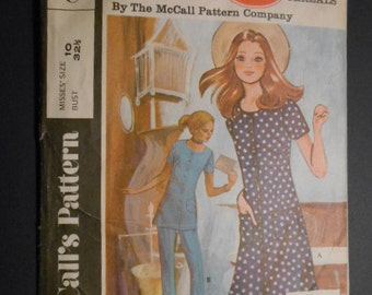 McCalls C, Post Cereal, Dress, Tunic, Pants, size 10