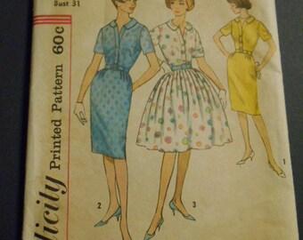 Simplicity  4425, Vintage Dresses, Size 10