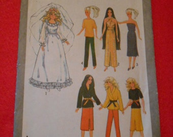 Simplicity  9194,  Barbie clothes,