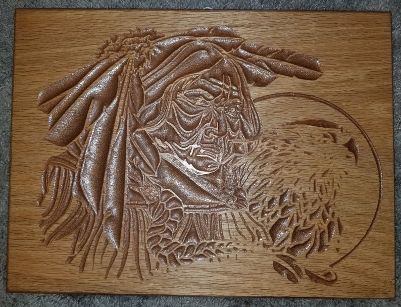 Native american relief carving etsy