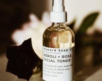 TONER | hydrosol toner | neroli toner | acne toner | calming toner