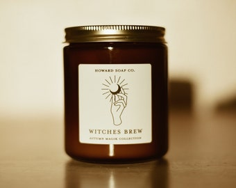 Witches Brew Candle// Autumn Magik Collection- fall candle, autumn candle, magik candle, minimalist decor, soy candle, minnesota made