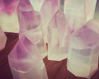 Crystal Soap>> crystal point/minnesotamade