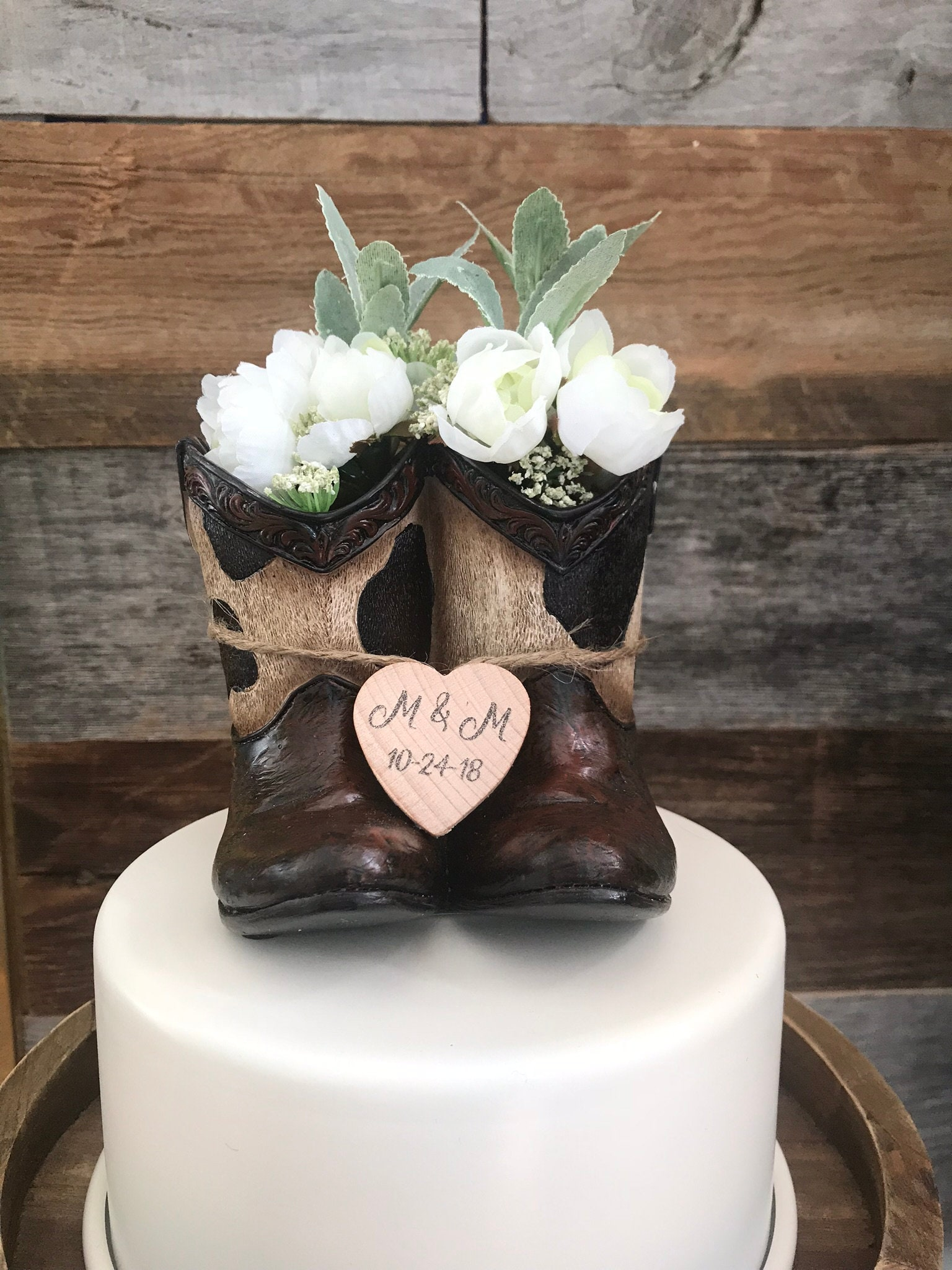 Rustic Wedding Cake Toppers Cowboy Wedding Cake Topper
