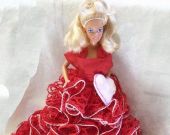 Valentine/Christmas Doll decoration