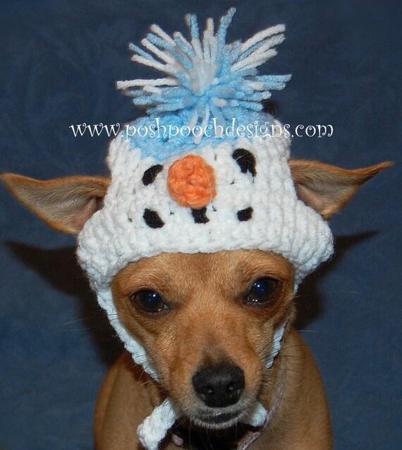 10e5d5ba1a0 Snowman Dog Hat Christmas Snowman Dog Beanie Dog hat 2-15