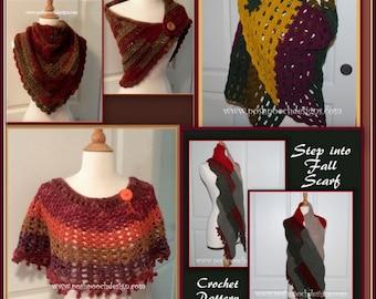 Fall Garments Crochet Pattern E Book - Instant Download PDF file