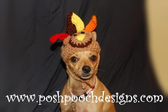 Turkey Dog hat Turkey Dog beanie Small