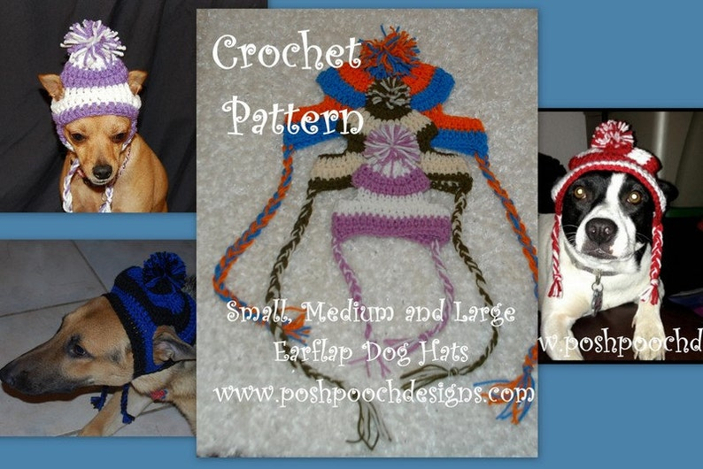 Instant Download  Crochet Pattern Bundle  Small Medium and image 0