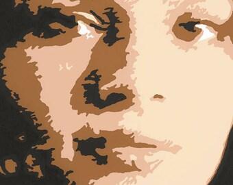 Norah Jones silscreen print