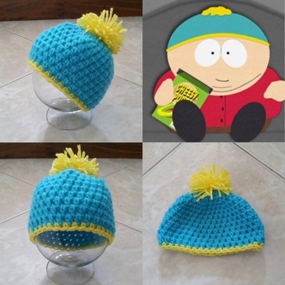 Crochet Cartman Beanie Hat South Park  5226dff385d