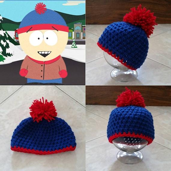 Crochet Stan Beanie Hat South Park  0c75b433910