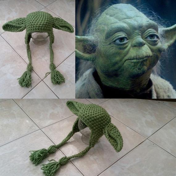 Yoda Mütze Häkeln Etsy