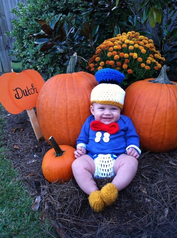 Donald Duck Outfit Häkeln Etsy