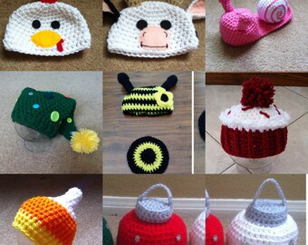 SPECIAL SALE!!! On all crochet props listed