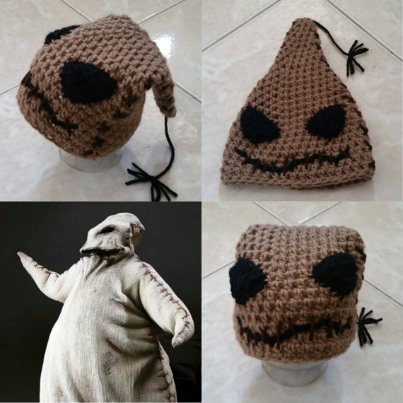 Häkeln Sie Oogie Boogie Beaniemütze The Nightmare Before Etsy