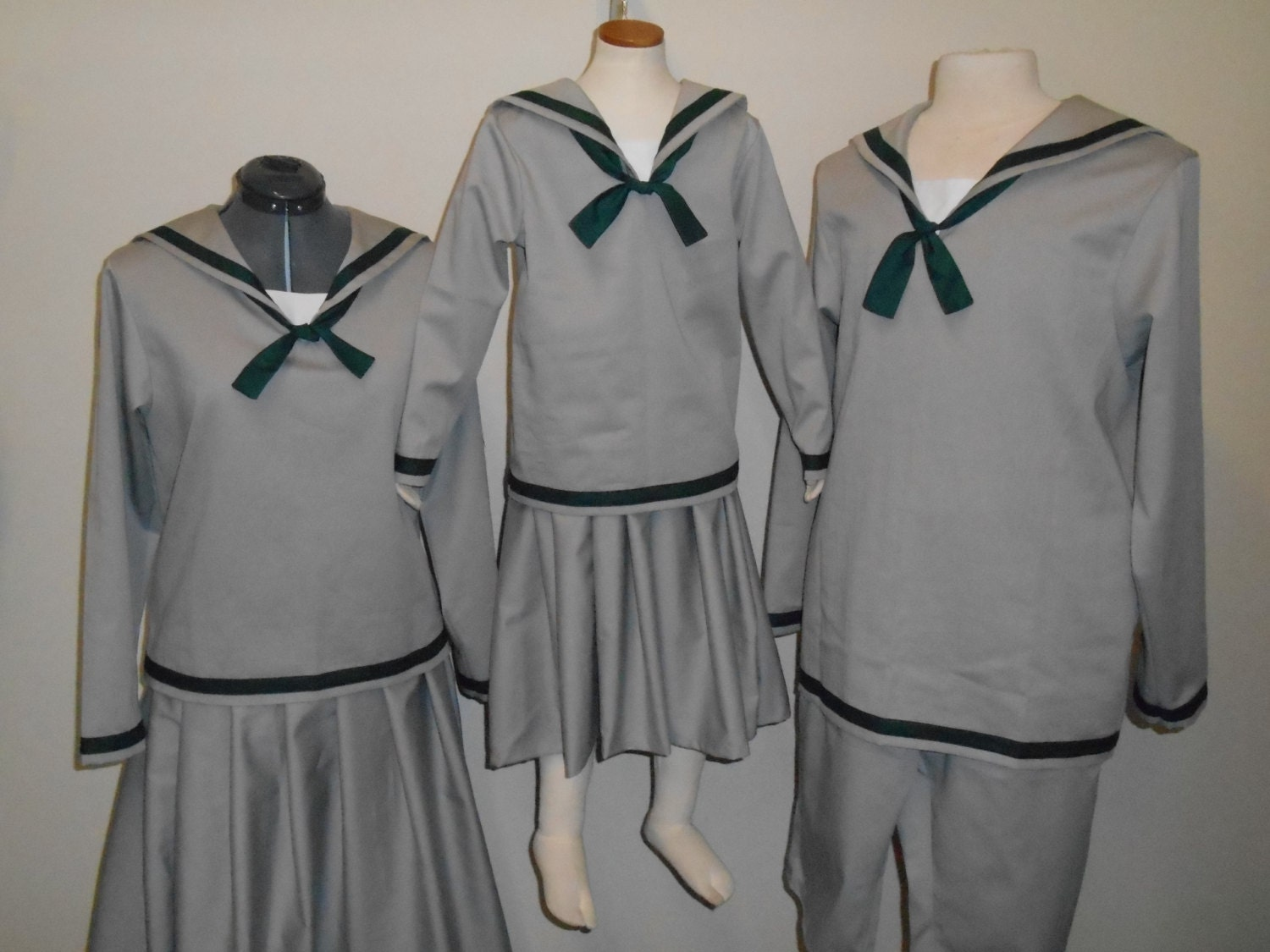 Uniforms For the VonTrapp Children from the Sound of Music