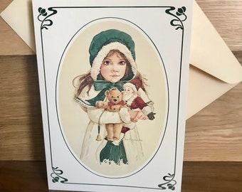 Vintage 80/'s  of  JAN HAGARA  Note Cards  Romantic Americana Look