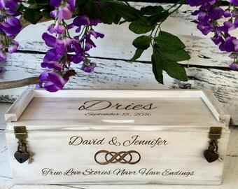 Wine Box, Wine Box Ceremony, Wedding, Anniversary, Wedding Gift, Keepsake Box, Love Letter Ceremony, Personalized, Engraved