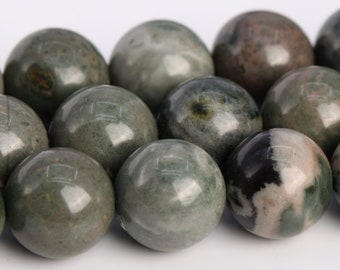 104637 10MM Rainforest Agate Beads Grade AAA Genuine Natural Round Gemstone Loose Beads 39  19 Pcs