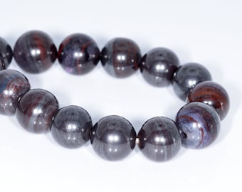Collectibles United 9mm Natural Purple Sugilite Gemstone Woman Round Beads Healing Bracelet Aaa