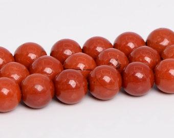2MM BRECCIATED RED JASPER GEMSTONE GRADE A FACETED ROUND 2MM LOOSE BEADS 15.5 Kralen en sieraden