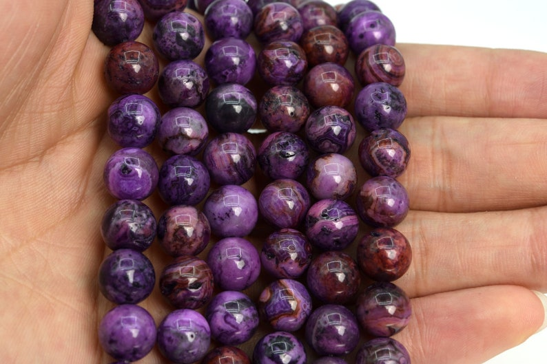 9-10MM Purple Crazy Lace Agate Beads Grade AAA Natural Gemstone Half Strand Round Loose Beads 7.5 BULK LOT 1,3,5,10,50 105208h-1477