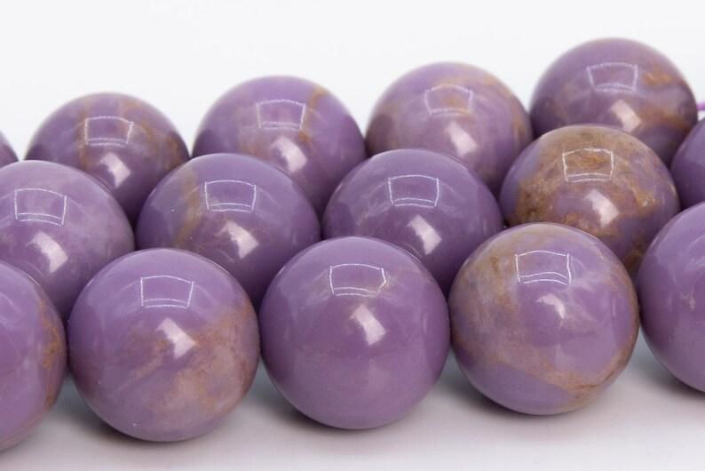 13-14MM Purple Phosphosiderite Beads Grade AB Genuine Natural Gemstone Half Strand Round Loose Beads 7.5 109374h-2947