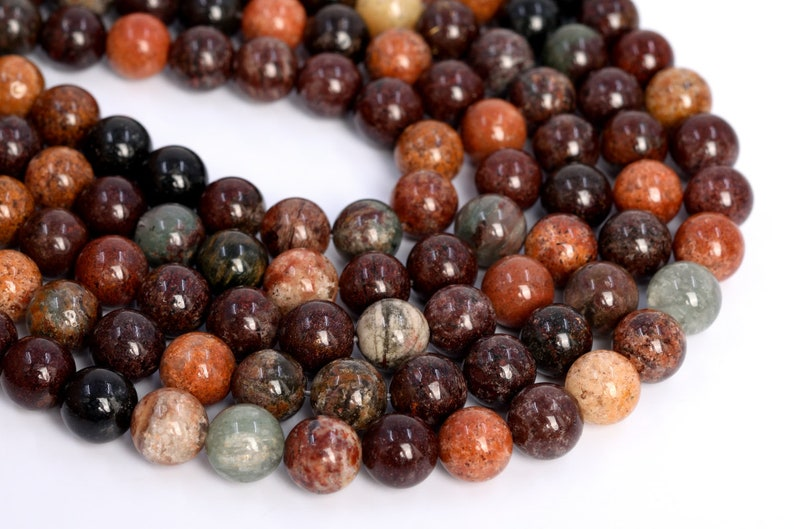 9-10MM Mix Phantom Quartz Beads Grade AAA Genuine Natural Gemstone Half Strand Round Loose Beads 7.5 BULK LOT 1,3,5,10,50 105845h-1759