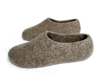 069291ddb08f Eco Friendly Felt Wool Clogs
