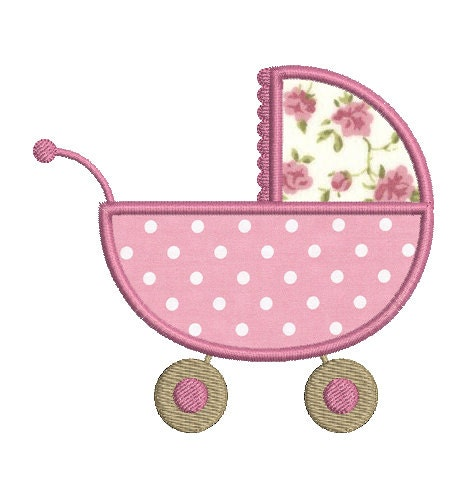 Instant nea descargar carro de beb bordado dise o - Apliques de diseno ...