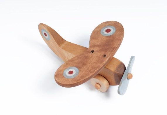 Giocattolo aereo di legno, aereo di legno, aereo in legno, giocattoli in legno per i bambini, giocattoli in legno per i ragazzi