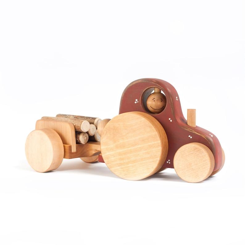 Baby Holzspielzeug Flugzeug Holzflugzeug zerlegbar Kinderspielzeug 19 Teile Geschenk