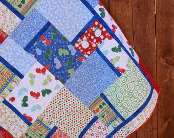 Patchwork Winter Quilt