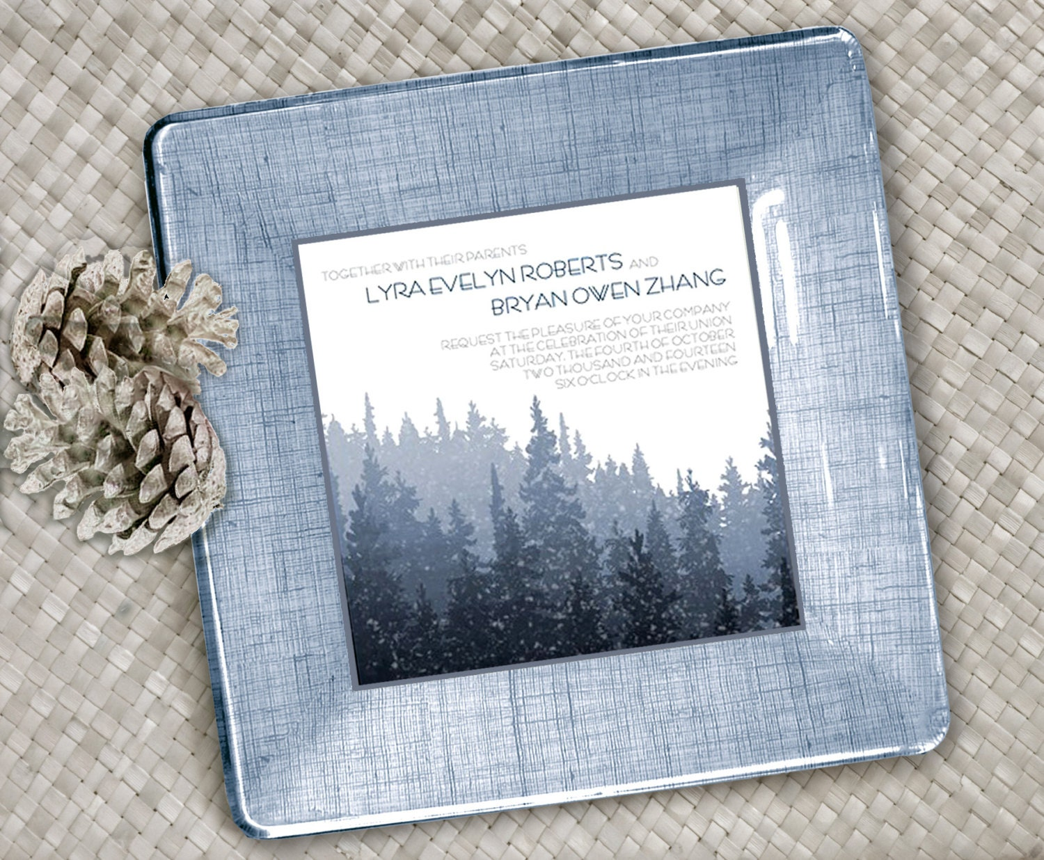 Winter Wedding Gifts: Winter Wedding Gift For Couple Personalized Wedding Gift