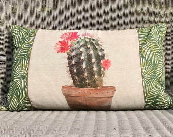 Cactus shaped pillow | Etsy