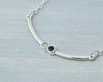 Mommy Jewelry, Mothers Day Gift, Birthstone Bar Necklace, Birthstone Jewelry, Family Jewelry, Mothers Jewelry, Gift For Her