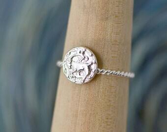 Capricorn Ring, Astrology Jewelry, Zodiac Jewelry, Capricorn Jewelry, Horoscope Ring, Astrology Jewelry, Zodiac Ring, Gift For Her