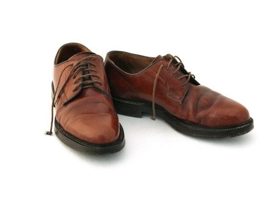 Vintage shoes, Brown Leather Mens Shoes, Men's Sh… - image 3