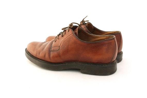 Vintage shoes, Brown Leather Mens Shoes, Men's Sh… - image 4