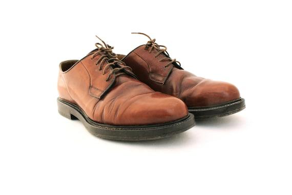 Vintage shoes, Brown Leather Mens Shoes, Men's Sho