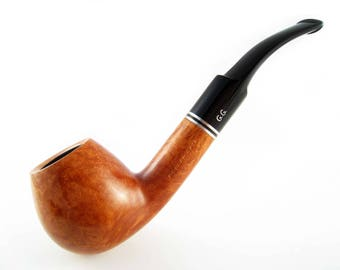 """New Briar Pipe """"DUBLIN"""", Tobacco Pipe Smoking Pipe/Pipes Handmade.  Wooden Pipe 5.7''"""