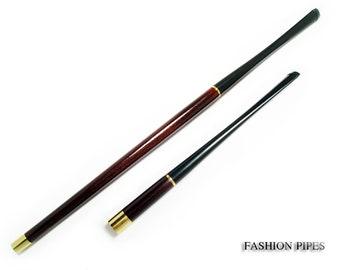 "Women Vintage Cigarette Holder ""Jacqueline Kennedy"" 10.7""/270mm fits slims & 6.7""/150mm fits regular, wood Handmade and BOX"