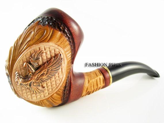 Set Wooden Tobacco Smoking Pipe Metal