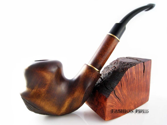 Pipe SALVADOR DALI - Wooden Tobacco Pipe 7 in,Smoking Pipe Engraved  Handcrafted Wooden Pipes for Pipe smokers - Best Price Offer