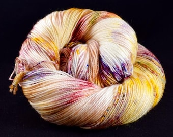 Hand dyed sock yarn - DESERT DIRT - Spring Summer 2018 Collection