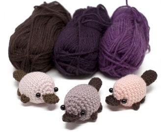 crochet platypus pattern - easy amigurumi pattern